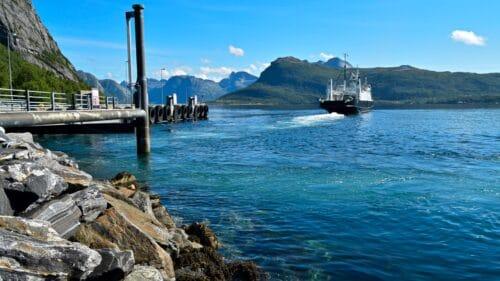 Ferga på vei fra Kjerringøy