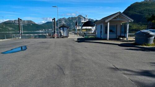 Fergekaia på Festvåg i Bodø