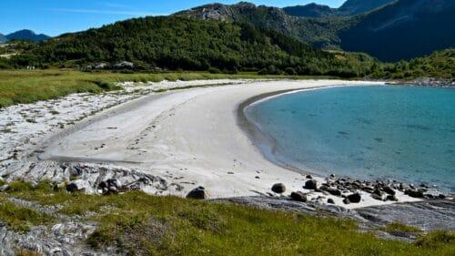 Lysvika strand på Kjerringøy