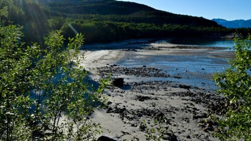 Ospvika strand på Kjerringøy