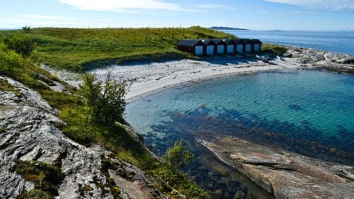 Sandeidet strand på Kjerringøy