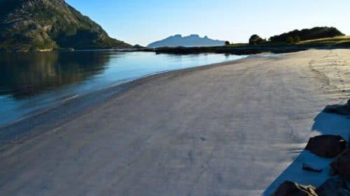 Stegberget strand på Kjerringøy