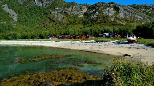 Strandåvika strand på Kjerringøy