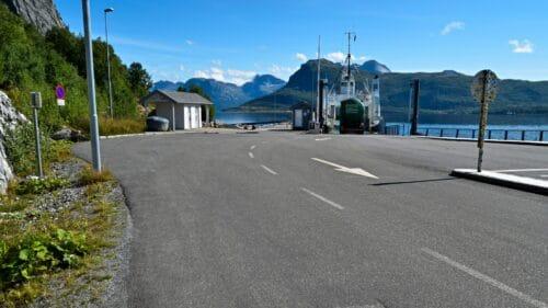 Misten fergekai på Kjerringøy